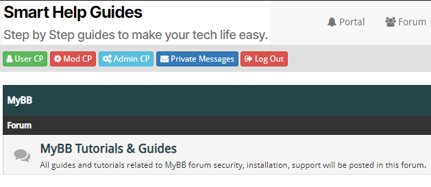 mybb forum security tutorial